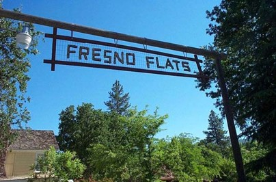 View of Fresno Flats Historical Park entrance
